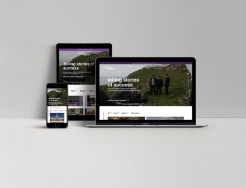 seventy7 reveals new website for Creative England